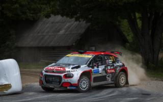 WRCエストニア:WRC2は選手権リーダーのマッズ・オストベルグが首位発進