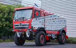 日野自動車が2021年のダカールラリー参戦を発表