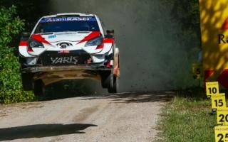 WRCエストニア:勝田貴元、完走を逃すも一時総合5番手と速さを示す