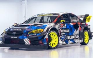 スバル・モータースポーツUSA、ジムカーナ用WRX STIのカラーリングを公開