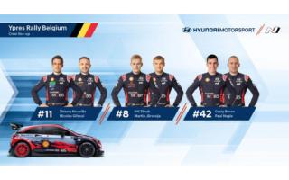 ヒュンダイ、WRCベルギーのドライバーにクレイグ・ブリーンの起用を発表