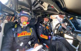 WRCイタリア:ペターのコ・ドライバーを務めるミケルセン「怖がるヒマもないよ!」