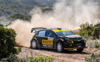 WRCイタリア:ペター・ソルベルグ、2021年のWRCタイヤでサルディニアのパワーステージを快走