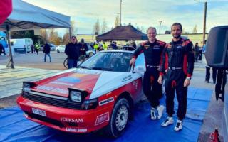 ラトバラがセリカGT-FOURを駆りフィンランドの国内ラリーで優勝