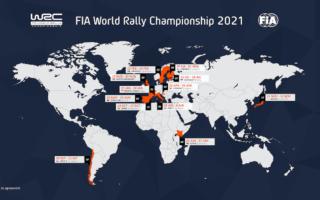 2021年のWRCカレンダーが発表。クロアチアが初開催、ジャパンは最終戦
