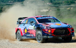 WRCイタリア:シェイクダウンはタナックとエバンスが同タイムでトップ。勝田貴元は9番手