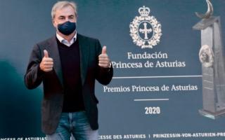 カルロス・サインツがスペインのアストゥリアス皇太子賞を授賞
