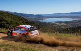 WRCイタリア:初日を終えて首位はヒュンダイのソルド。勝田貴元はSS4でコースオフ