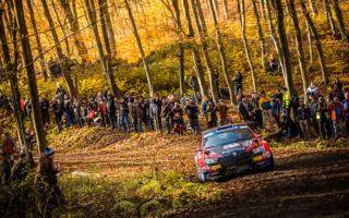ERCハンガリー:レグ1トップはアンドレアス・ミケルセン