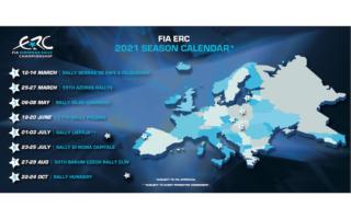 ERCが2021年暫定カレンダーを発表、2戦セット方式でコスト削減
