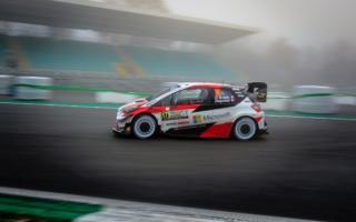 WRCモンツァ:2020年最後の戦い、オジエがSS1でベストタイムを記し首位に立つ