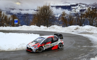 WRCモンツァ:波乱の競技3日目はオジエが総合首位に。勝田は再びSS二番時計をマーク