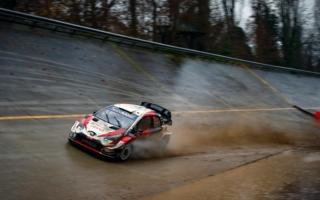 WRCモンツァ:豪雨の2日目、オジエが総合3位、エバンスが総合4位につける