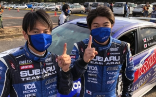 全日本ラリー唐津:新井大輝/小坂典嵩、逆転勝利での初戴冠