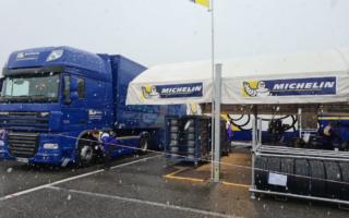 WRCモンツァ:開催エリアに降雪、登録タイヤにスノータイヤを追加