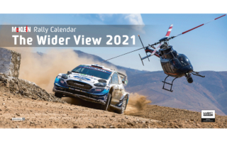 カメラマン集団・マクラインが毎年恒例のワイド版WRCカレンダーを発行
