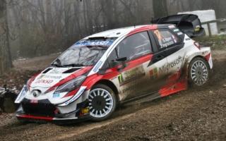 【追記】WRCモンツァ:SS1のトップはオジエ。勝田はウォールにヒットしストップ