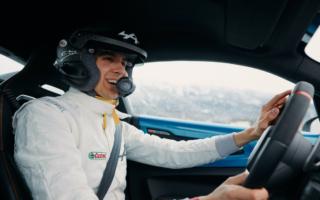 WRCモンテカルロ:アルピーヌA110Sでデモランのオコン「ラリーへの挑戦は長年の夢だった」