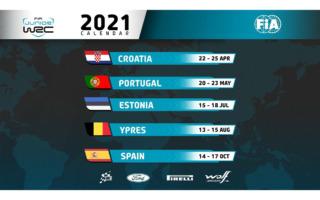 JWRCが全5戦のカレンダーを発表、4月のクロアチアで開幕