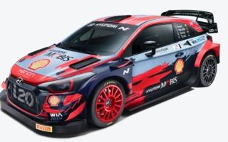ヒュンダイ、i20クーペWRCの2021年カラーリングを発表