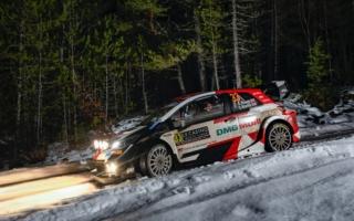 WRCモンテカルロ:2日目を終えてエバンスとオジエが1-2。勝田は8番手