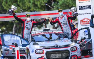 WRCモンテカルロ:WRC3はロッセルが優勝、シトロエン勢が上位を独占