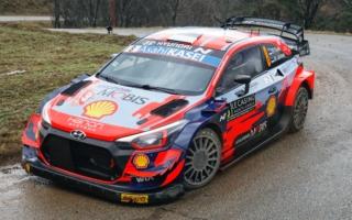 WRCモンテカルロ:2021年シーズン開幕。初日を終えタナックが首位、勝田は11番手