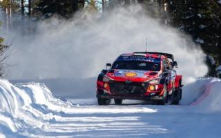 WRCアークティック:競技2日目もタナックは首位キープ。勝田は7番手