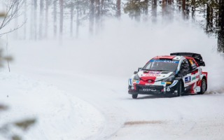 WRCアークティック:初日を終えて地元のロバンペラが総合3番手につける