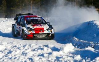 WRCアークティック:20歳のロバンペラが総合2番手に浮上
