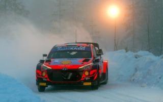 WRCアークティック:シェイクダウンのトップはタナック。勝田は3番手