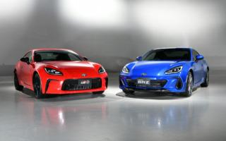 トヨタとスバルが新型「GR86」と「BRZ」を公開