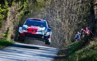 WRCクロアチア:オジエが4本のベストタイムで初日総合2位に