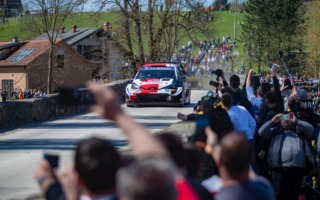 WRCクロアチア:オジエが首位、エバンスは総合2位にポジションアップ