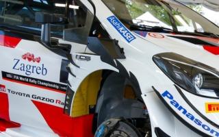 WRCクロアチア:TGRはヤリスWRCに新型空力パーツを導入