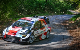 WRCクロアチア:シェイクダウンのトップはエバンス。勝田は6番手
