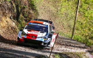 WRCクロアチア:2日目を終えトヨタのオジエが首位。勝田は2度のベストタイム