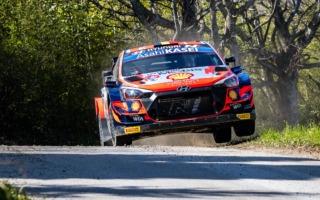 WRCクロアチア:初日首位はヒュンダイのヌービル。勝田は9番手、新井はリタイア