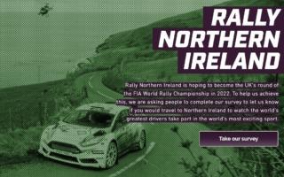 2022年のWRC開催を目指す北アイルランド、ファンに向けてアンケート実施