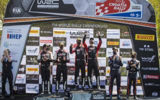 WRCクロアチア:オジエがエバンスとの大接戦を制して優勝 。選手権首位に返り咲く