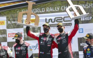 WRCクロアチア:豊田章男社長「諦めずに走り続けて勝利を手にしてくれた」コメント全文
