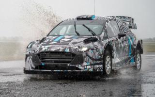 Mスポーツ・フォードが2022年型マシンのテスト画像を公開
