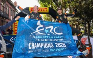 アレクセイ・ルキヤナク、アップグレード版C3ラリー2で、ERCタイトル3冠を目指す