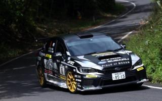 全日本ラリー丹後:ラリー復帰戦の鎌田卓麻が5位でフィニッシュ