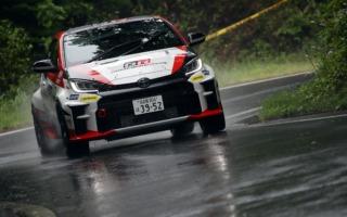 全日本ラリー丹後:集中的なテストを行い挑んだラリーで勝田範彦/木村裕介が2位表彰台