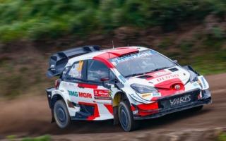 WRCポルトガル:競技2日目、エバンスが首位に。勝田はオジエと1.5秒差の4番手