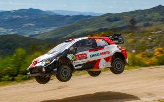 WRCポルトガル:エバンスが首位に、オジエが総合3位に浮上