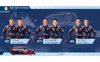 WRCポルトガル、ヒュンダイはi20クーペWRCのサードカーにダニ・ソルドを起用