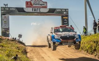 WRCポルトガル:WRC3はカエタン・カエタノビッチが2連勝