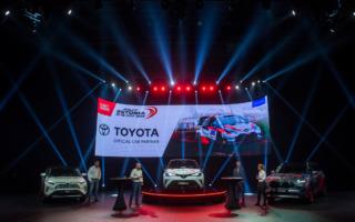 トヨタがWRCエストニアの公式パートナーとしてオフィシャルカー供給